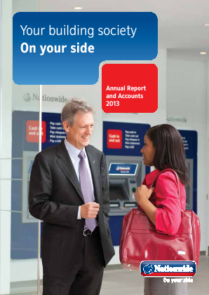 Nationwide Building Society annual report 2013