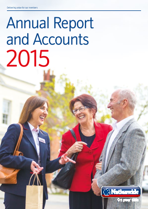 Nationwide Building Society annual report 2015