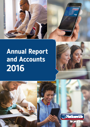 Nationwide Building Society annual report 2016
