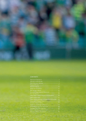 Celtic annual report 2011