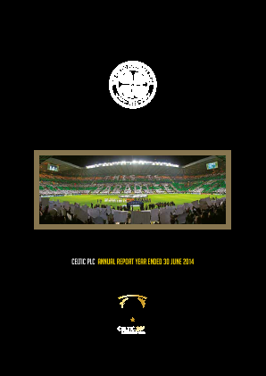 Celtic annual report 2014