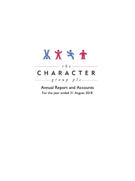 Character Group annual report 2018