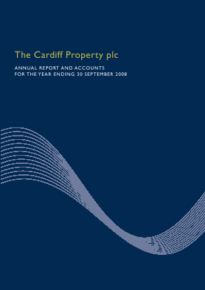 Cardiff Property annual report 2008