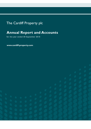 Cardiff Property annual report 2010