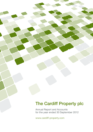 Cardiff Property annual report 2012