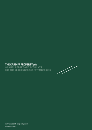 Cardiff Property annual report 2013