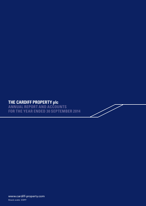Cardiff Property annual report 2014