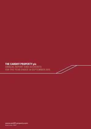Cardiff Property annual report 2015