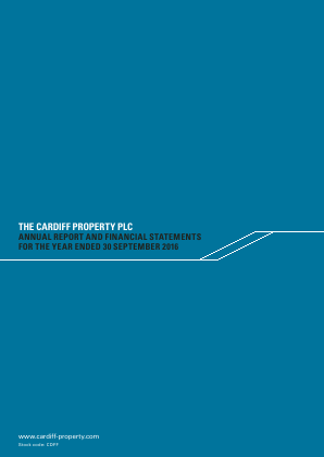 Cardiff Property annual report 2016