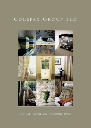 Colefax Group annual report 2005