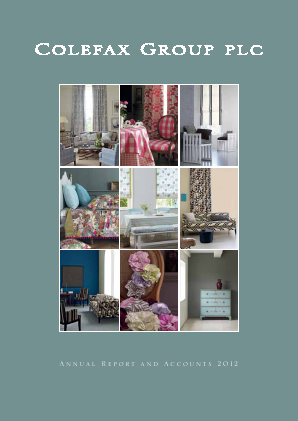 Colefax Group annual report 2012