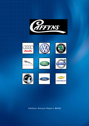 Caffyns annual report 2012