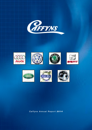 Caffyns annual report 2014