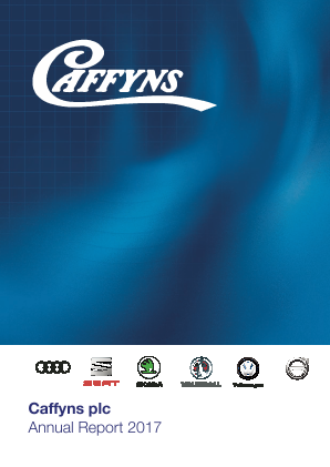 Caffyns annual report 2017