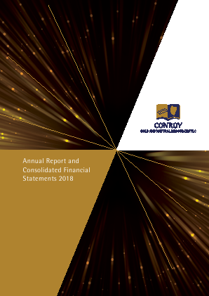 Conroy Gold & Natural Resources Plc annual report 2018