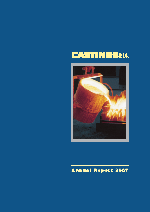 Castings annual report 2007