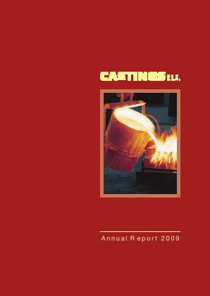 Castings annual report 2009