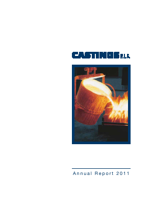 Castings annual report 2011