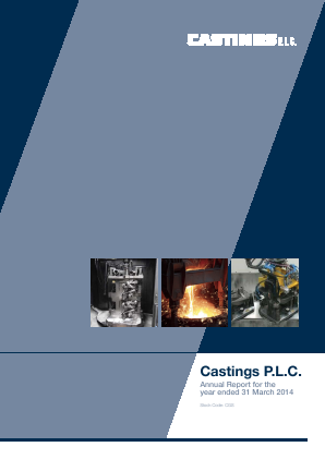 Castings annual report 2014