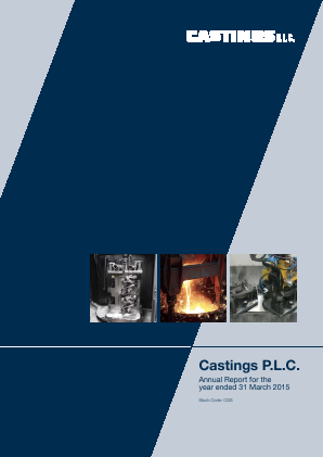 Castings annual report 2015
