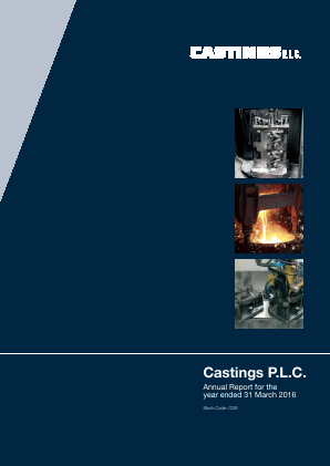 Castings annual report 2016
