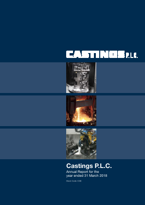 Castings annual report 2018