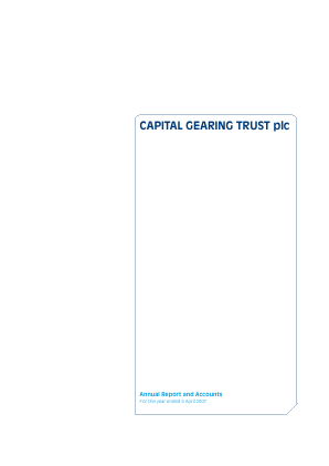Capital Gearing Trust annual report 2007