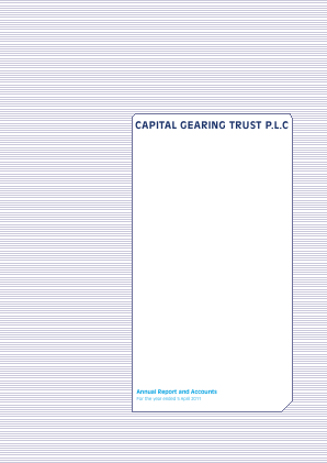 Capital Gearing Trust annual report 2011