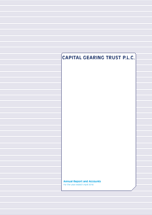 Capital Gearing Trust annual report 2014