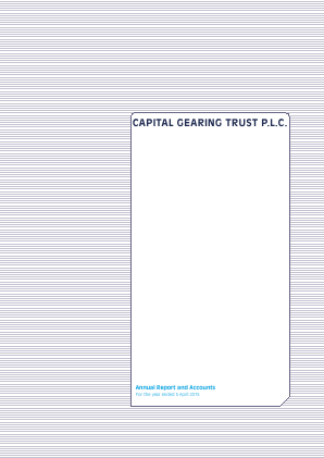 Capital Gearing Trust annual report 2015