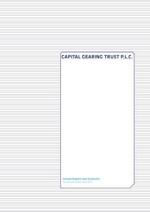 Capital Gearing Trust annual report 2017