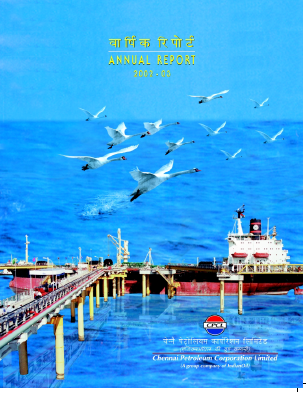 Chennai Petroleum Corporation annual report 2003