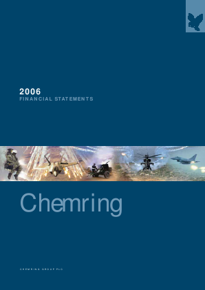 Chemring Group annual report 2006