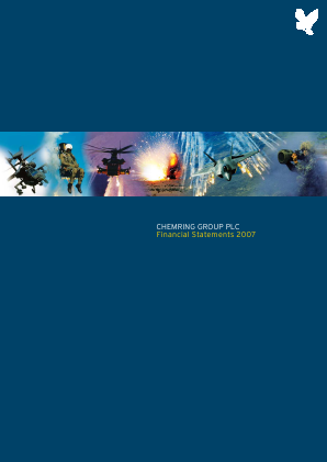 Chemring Group annual report 2007