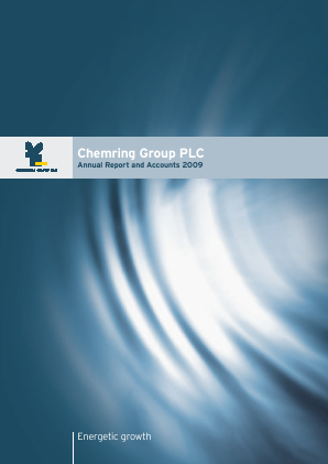 Chemring Group annual report 2009