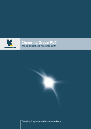 Chemring Group annual report 2010