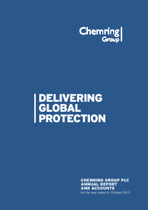 Chemring Group annual report 2013