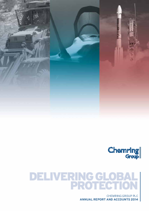 Chemring Group annual report 2014