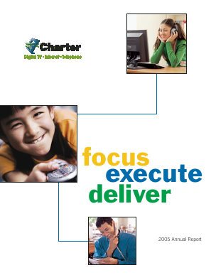 Charter Communications, Inc. annual report 2005