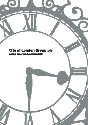 City of London Group annual report 2016