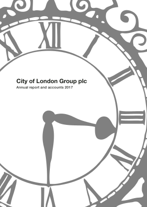City of London Group annual report 2017