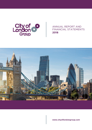 City of London Group annual report 2018