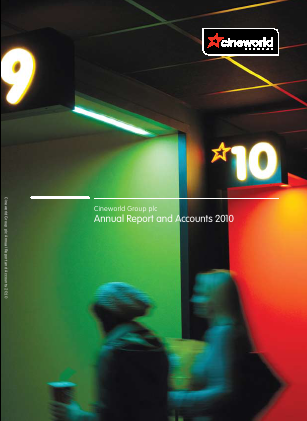 Cineworld Group annual report 2010