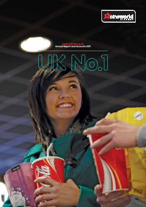 Cineworld Group annual report 2011