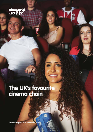 Cineworld Group annual report 2013