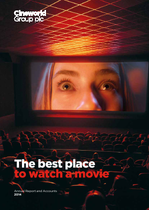 Cineworld Group annual report 2014