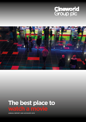 Cineworld Group annual report 2015