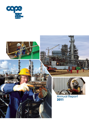 Cape Plc annual report 2011