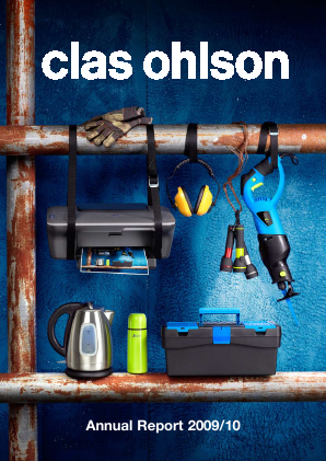 Clas Ohlson annual report 2010
