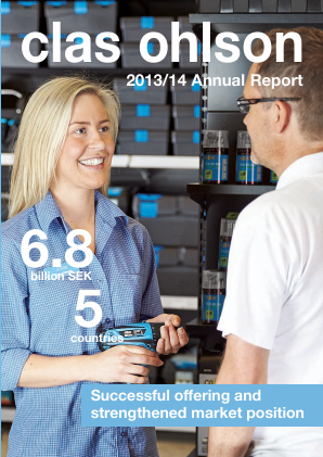 Clas Ohlson annual report 2014